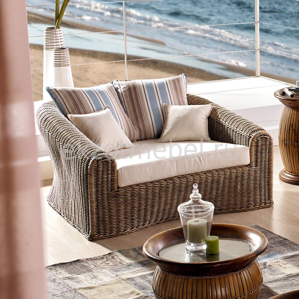Плетеная мебель диваны из ротанга